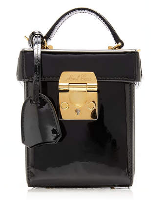 493fde2dbe0a Mark Cross Grace Cube Patent Leather Bag