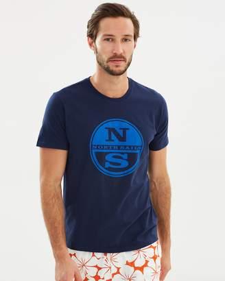 North Sails Short Sleeve Print Tee