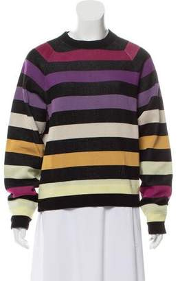 Marc Jacobs Crew Neck Striped Sweater