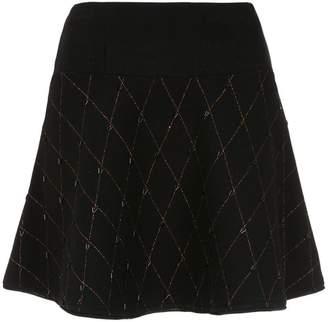 Andrea Bogosian flared knit skirt