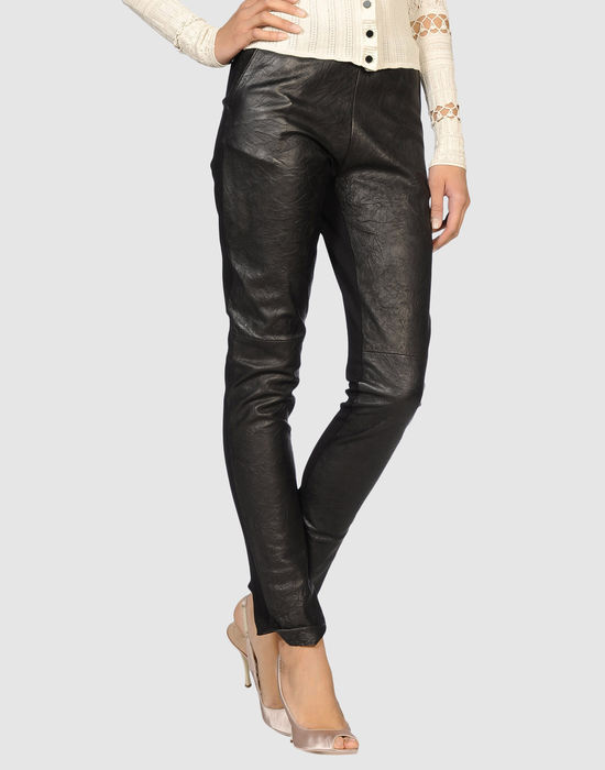MALANDRINO Leather pants