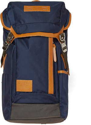 MASTERPIECE Master Piece Potential Leather Trim Backpack