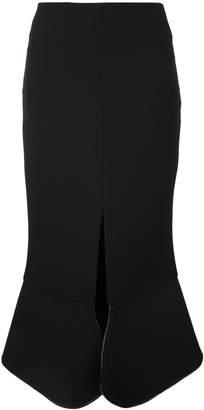 CHRISTOPHER ESBER saddle release split skirt