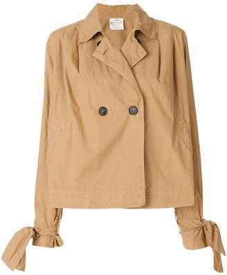 Forte Forte cropped trench coat