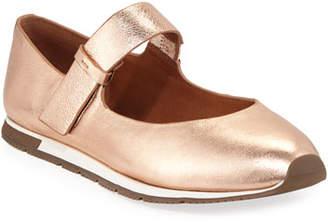 Gentle Souls Luca Metallic Leather Mary Jane Sneakers