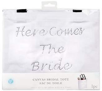 Victoria Lynn Tote - Here Comes the Bride - White - 18 inches