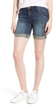 KUT from the Kloth Catherine Boyfriend Cutoff Shorts