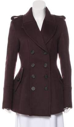 Burberry Virgin Wool Short Coat
