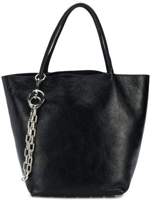 Alexander Wang chain embellished tote