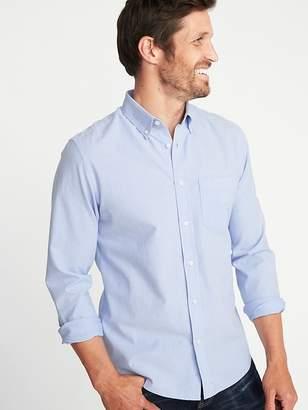 Old Navy Slim-Fit Built-In Flex Everyday Oxford Shirt For Men