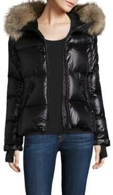 SAM. Blake Fur-Trim Puffer Coat