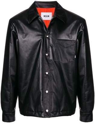 MSGM press stud jacket