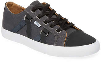 Michael Bastian Canvas & Suede Lace-Up Sneaker
