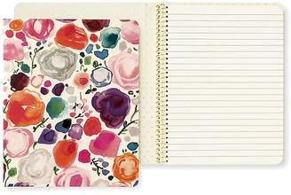 Kate Spade Floral Concealed Spiral Notebook - Natural