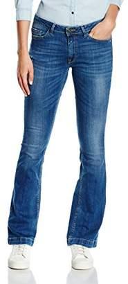 More & More Women's Jeans Denim Jeans, Flare - Blue