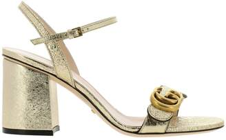 dbf5ac177a0 Gucci Gold Heel Shoes - ShopStyle