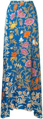 Peter Pilotto floral print maxi skirt
