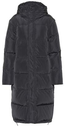 Ganni Whitman quilted down coat