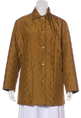 Salvatore Ferragamo Quilted Short Coat