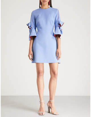 Roksanda Harlin bow-detail crepe mini dress
