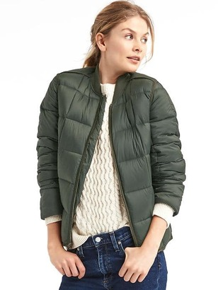 ColdControl Max puffer bomber jacket $138 thestylecure.com