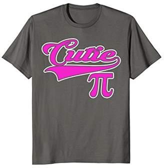 Pi Cutie 3.14 Funny Math Geek T-Shirt
