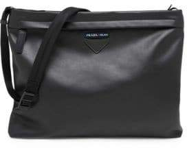 Prada Grace Luxe Leather Shoulder Bag