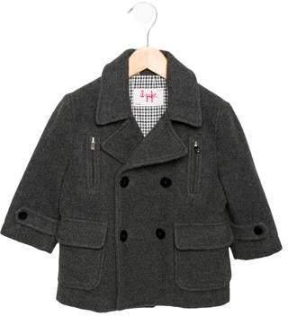 Il Gufo Boys' Wool-Blend Coat