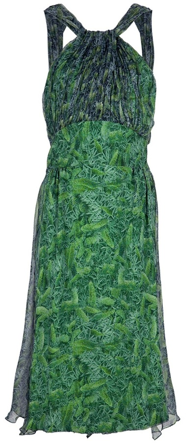 Luisa Beccaria Vintage Vintage 'fantasia' dress
