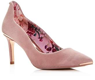 Ted Baker Women's Vixyns Suede Pointed Toe Pumps
