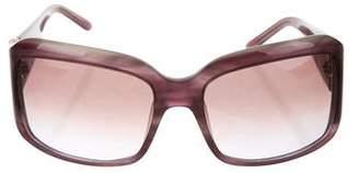 Valentino Logo-Embellished Oversize Sunglasses