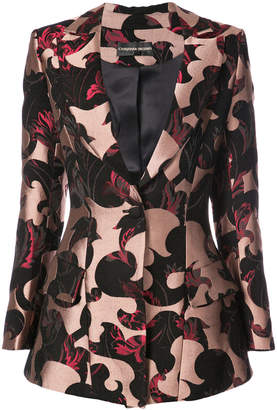 Christian Siriano structured suit jacket