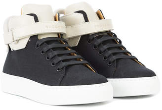 Buscemi Kids touch strap fastening sneakers