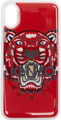 Kenzo Red 3D Tiger iPhone X Case