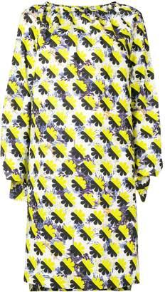 Odeeh colour-block shift dress