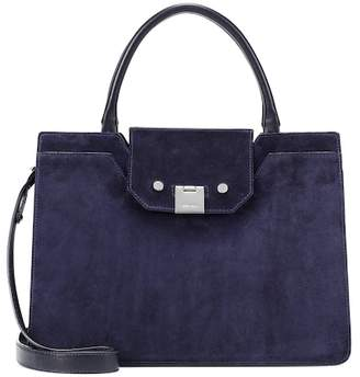 Jimmy Choo Rebel suede tote