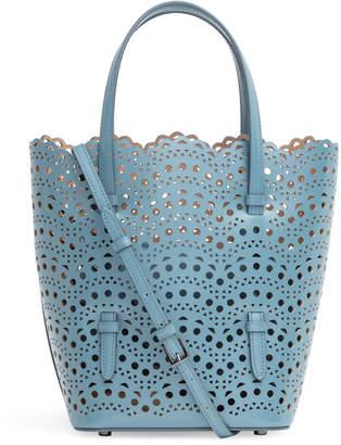 2baaff462 Alaia Light blue laser cut tote bag