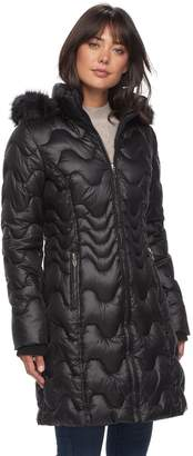 Gallery Women's Hooded Puffer Jacket