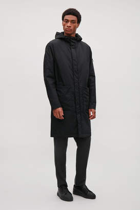 Cos HOODED PARKA WITH POCKETS