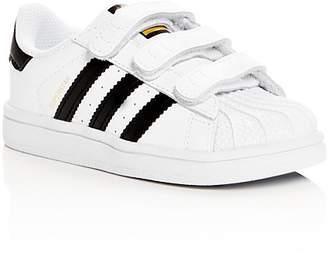 adidas Unisex Superstar Triple Strap Sneakers - Walker, Toddler