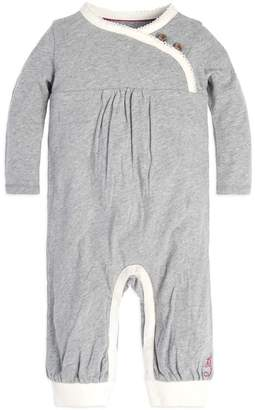 Burt's Bees Wrap Front Organic Baby One Piece Jumpsuit
