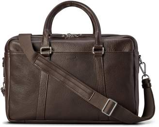 Shinola Double-Zip Leather Briefcase