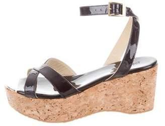 Jimmy Choo Platform Wedge Sandals w/ Tags