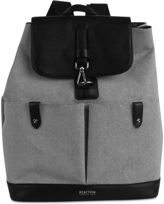 Kenneth Cole Reaction Traveler Canvas Medium Backpack $118 thestylecure.com