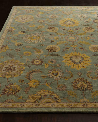 """Horchow Astral Blossom Runner, 2'4"""" x 8'"""