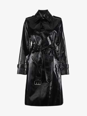 Helmut Lang patent trench coat