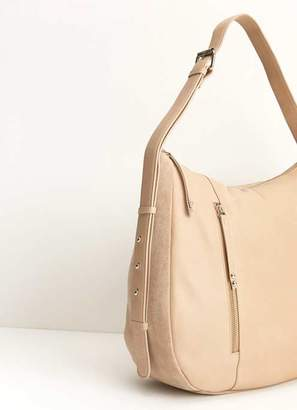 4d368ab5fe96 Mint Velvet Phoebe Camel Leather Zip Bag