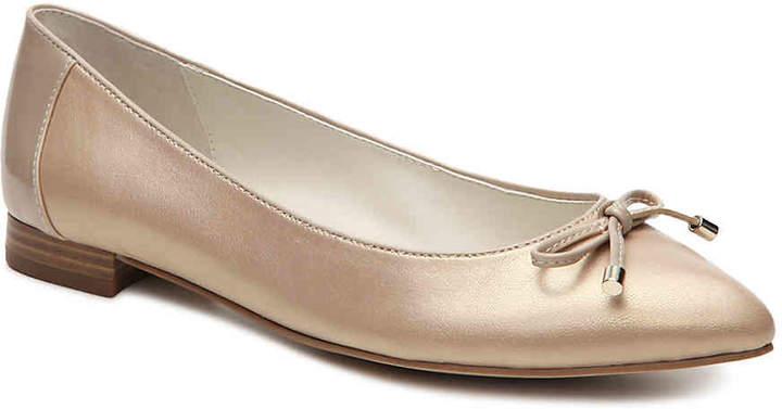 Anne KleinWomen's Anne Klein Odonette Ballet Flat -Gold