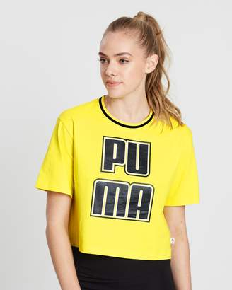 Puma Rebel Reload Crop Tee