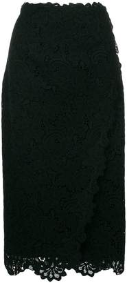 Ermanno Scervino lace overlay skirt